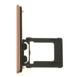 Sony Xperia XZ Premium G8141 - Držák microSD růžová - originál