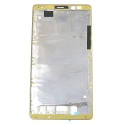 Huawei Mate 8 (NXT-L09) - Rám stredový zlatá