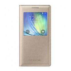 Samsung Galaxy A5 A500F - S view pouzdro zlatá - originál
