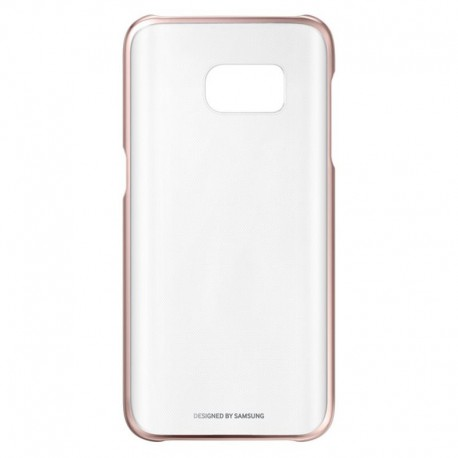 buy popular 20a50 74428 Samsung Galaxy S7 Edge G935F - Clear cover pink - original