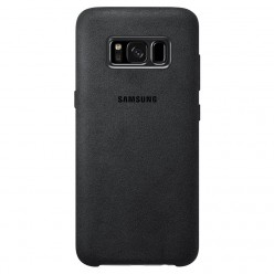 Samsung Galaxy S8 G950F alcantara puzdro čierna originál