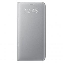 Samsung Galaxy S8 Plus G955F led view puzdro strieborná originál