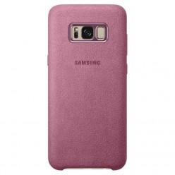 Samsung Galaxy S8 Plus G955F alcantara puzdro ružová originál
