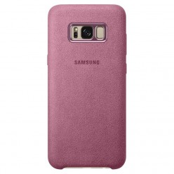 Samsung Galaxy S8 Plus G955F - Alcantara cover pink - original
