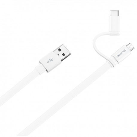 Huawei 2-in-1 data cable 1.5m white original