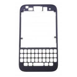 Blackberry Q5 rám stredový čierna OEM