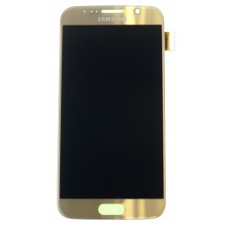 Samsung Galaxy S6 G920F - LCD + touch screen gold - original