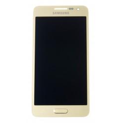 Samsung Galaxy A3 A300F - LCD + touch screen gold - original