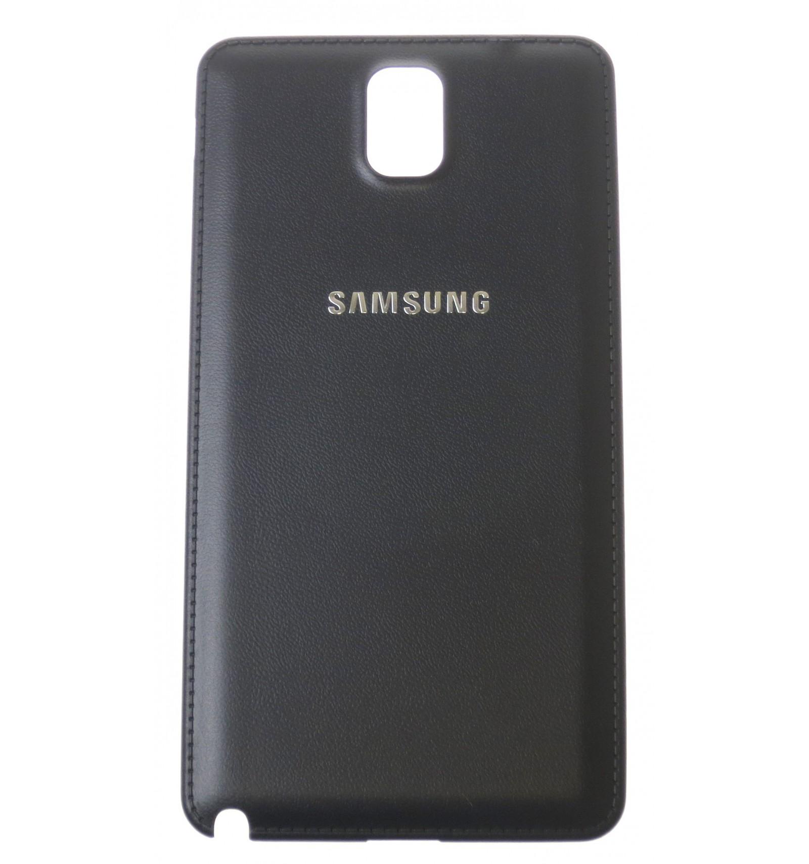 battery cover black oem for samsung galaxy note 3 n9005. Black Bedroom Furniture Sets. Home Design Ideas
