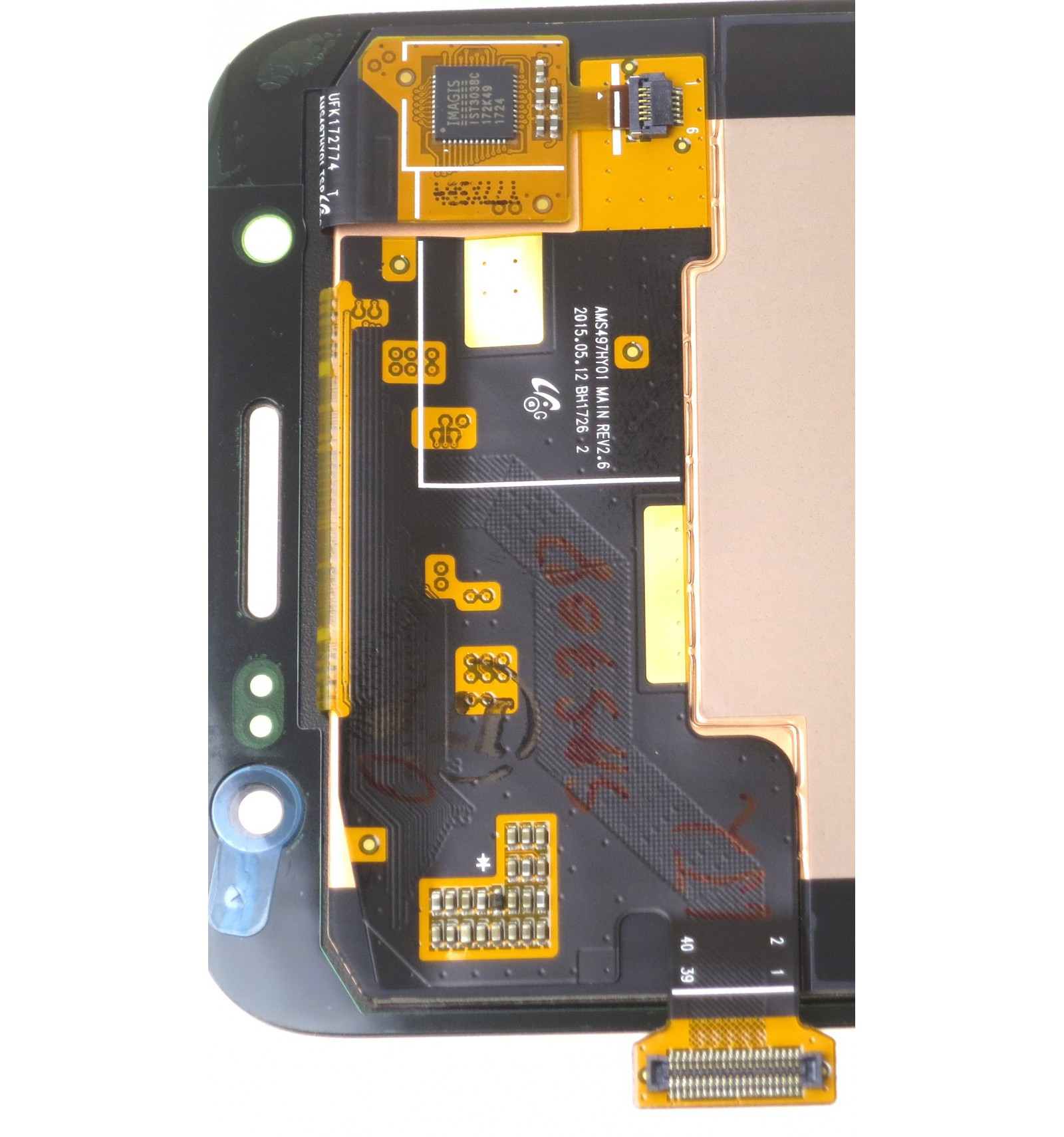 Samsung Galaxy J5 J500FN LCD touch screen gold original