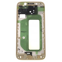 Samsung Galaxy J5 J530 (2017) - Rám středový zlatá - originál
