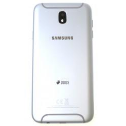 Samsung Galaxy J7 J730 (2017) - Kryt zadný strieborná - originál