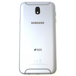 Samsung Galaxy J7 J730 (2017) - Kryt zadní stříbrná - originál