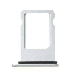 Apple iPhone 8 Plus - Držák SIM stříbrná - originál