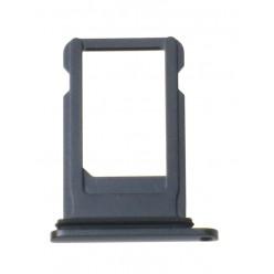 Apple iPhone 8 Plus - Držák SIM černá - originál
