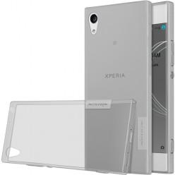 Sony Xperia XA1 G3121, XA1 Dual G3116 - Nillkin Nature TPU pouzdro šedá