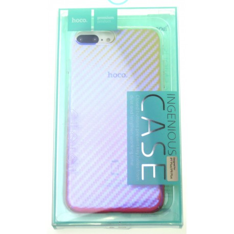 reputable site 0e221 e2b43 hoco. Apple iPhone 7 Plus, 8 Plus Transparent cover lattice pink