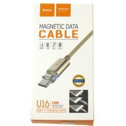 hoco. U16 magnetický adsorpční nabíjecí kabel typ-c zlatá