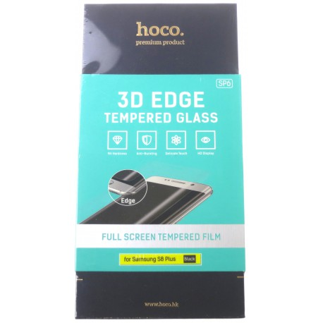 hoco. Samsung Galaxy S8 Plus G955F 3D tempered glass black