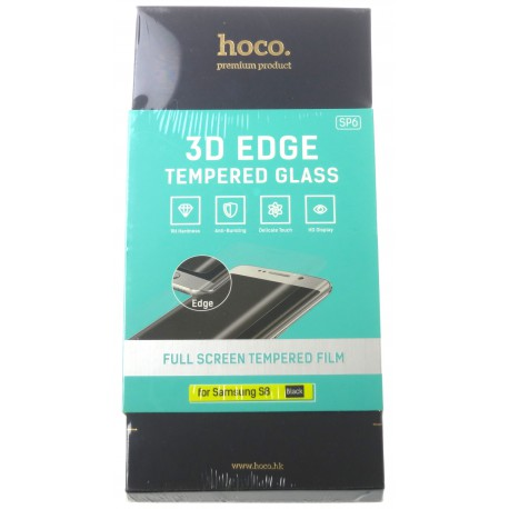 hoco. Samsung Galaxy S8 G950F 3D tempered glass black