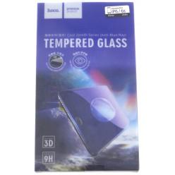 hoco. Apple iPhone X 3D Anti-Blue Ray temperované sklo čierna