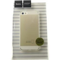 hoco. Apple iPhone 5, 5S, SE pouzdro transparentní průsvitná