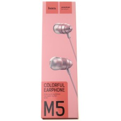 hoco. M5 earphone pink