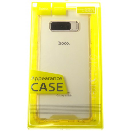 hoco. Samsung Galaxy Note 8 N950F transparent cover gold
