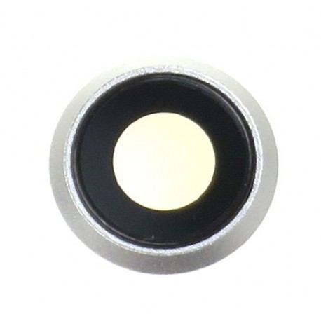 Apple iPhone 8 Camera lens with frame silver