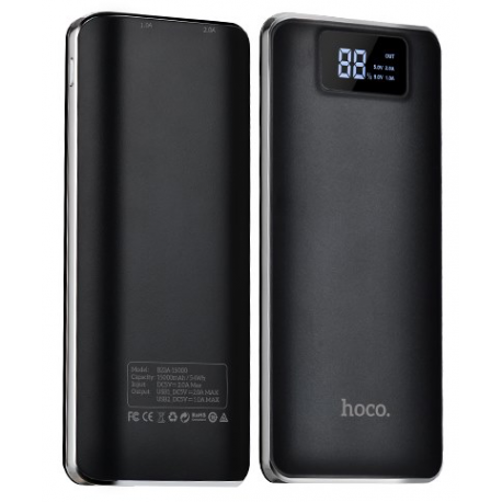 hoco. B23A powerbank 15000mAh black