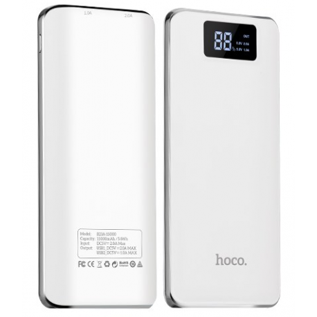 hoco. B23A powerbank 15000mAh white