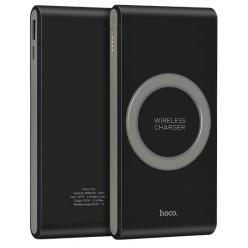 hoco. B32 bezdrôtová powerbank 8000mAh čierna