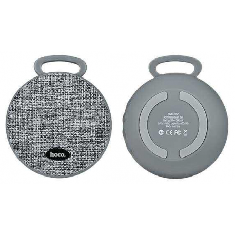 hoco. BS7 wireless speaker gray