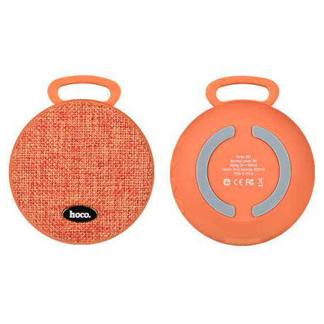 hoco. BS7 wireless speaker orange