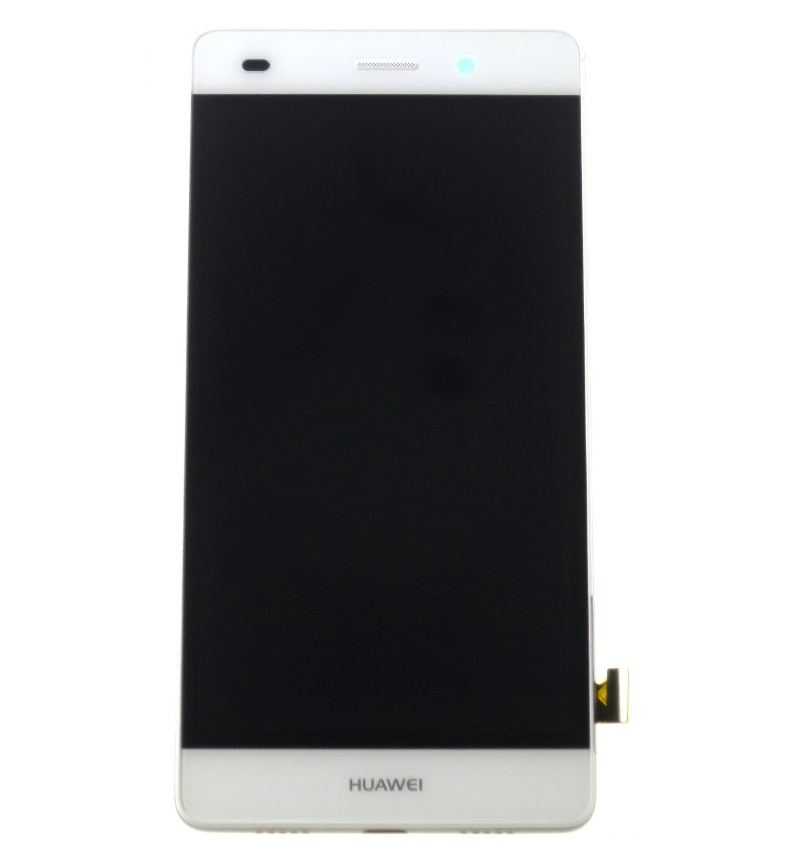 Lcd   Touch Screen   Frame   Small Parts White Original