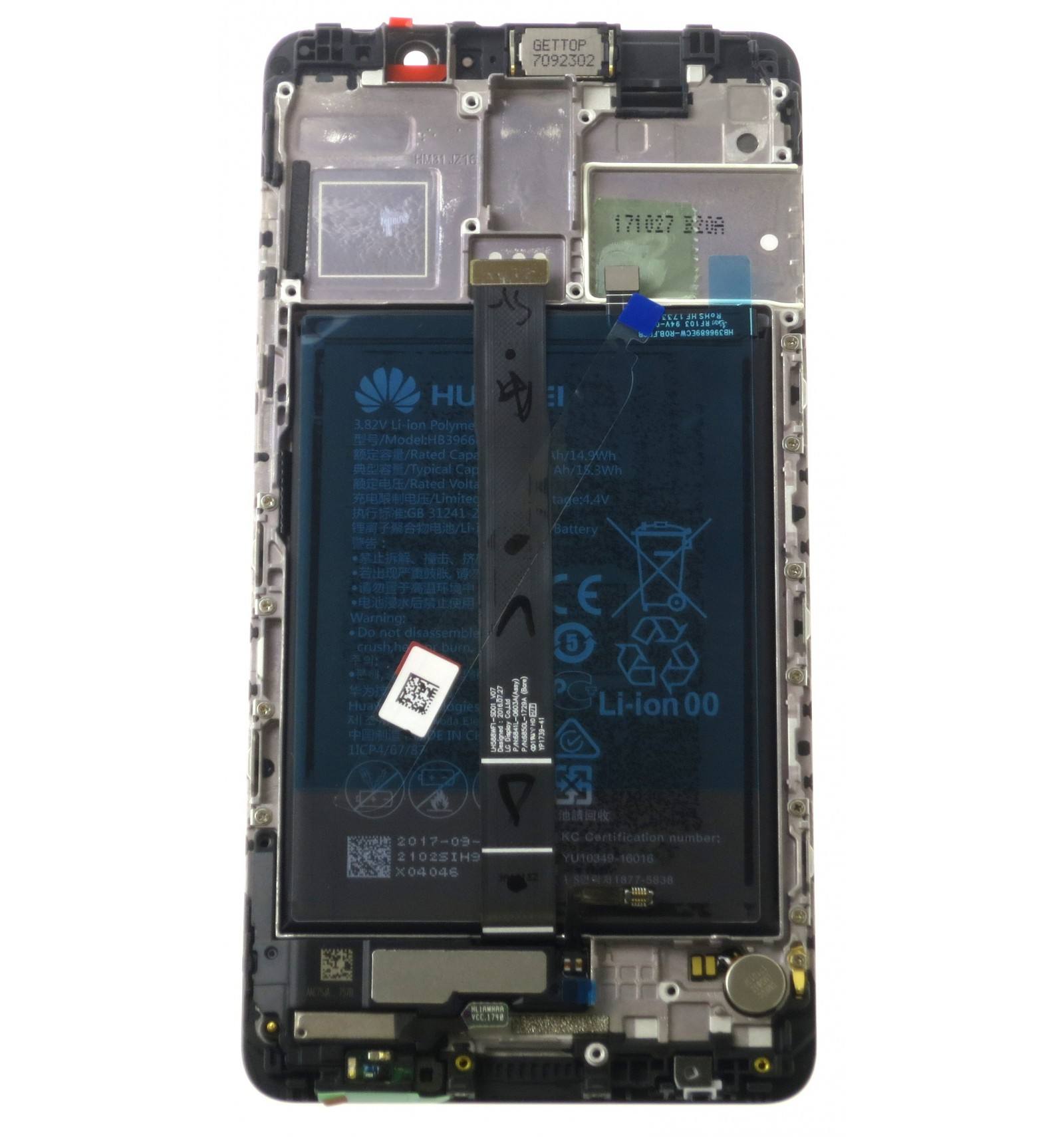 Lcd Touch Screen Frame Small Parts Black Original For Huawei Touchscreen Plus Xiaomi Redmi 3 3s 3x 3pro Mate 9