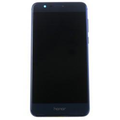 Huawei Honor 8 Dual Sim (FRD-L19) - LCD displej + dotyková plocha + rám + malé diely modrá - originál