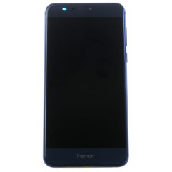 Huawei Honor 8 Dual Sim (FRD-L19) - LCD + touch screen + frame + small parts blue - original