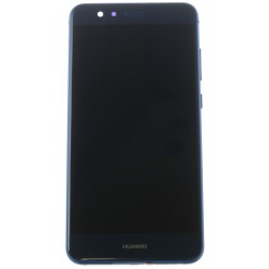 Huawei P10 Lite - LCD + touch screen + frame + small parts blue - original