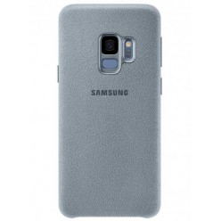 Samsung Galaxy S9 Plus G965F - Alcantara cover light blue - original