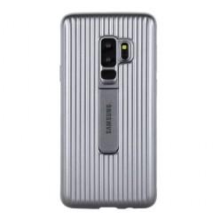 Samsung Galaxy S9 Plus G965F protective standing puzdro strieborná originál