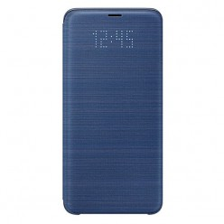 Samsung Galaxy S9 Plus G965F led view puzdro modrá originál