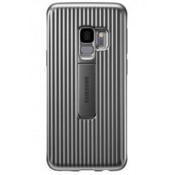 Samsung Galaxy S9 G960F - Protective standing pouzdro stříbrná - originál