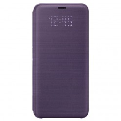 Samsung Galaxy S9 G960F - Led view cover violet - original