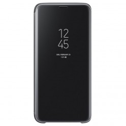 Samsung Galaxy S9 G960F clear view standing puzdro čierna originál