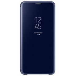 Samsung Galaxy S9 G960F - Clear view standing cover blue - original
