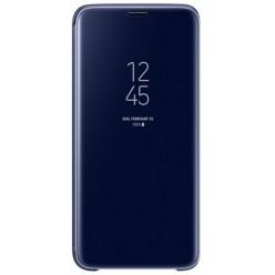 Samsung Galaxy S9 G960F - Clear view standing pouzdro modrá - originál