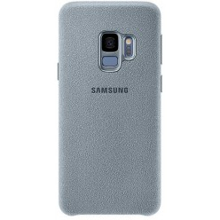 Samsung Galaxy S9 G960F - Alcantara cover light blue - original