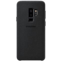 Samsung Galaxy S9 Plus G965F - Alcantara puzdro čierna - originál