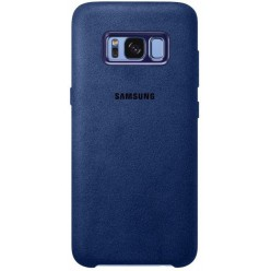 Samsung Galaxy S8 Plus G955F - Alcantara pouzdro modrá - originál